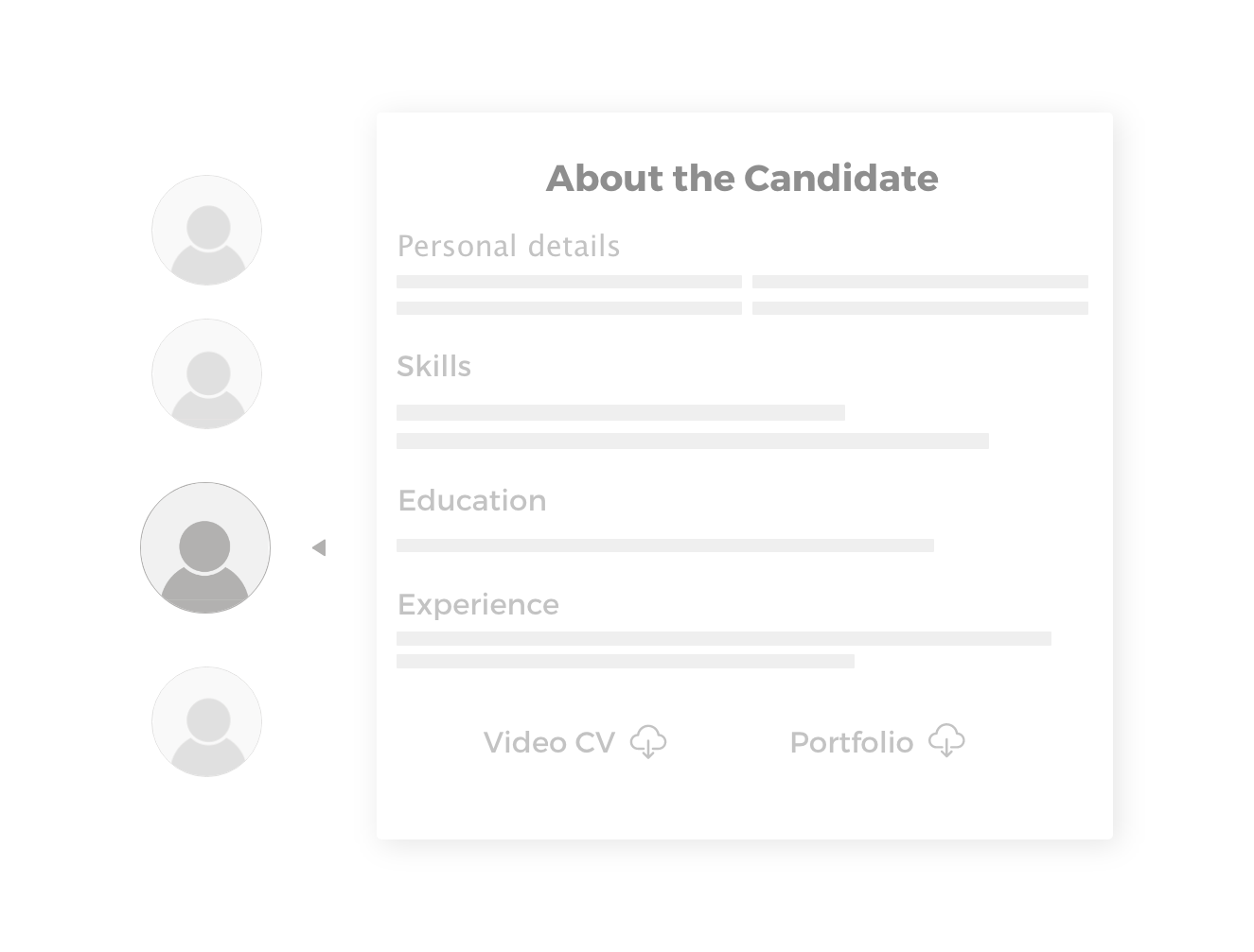 Unlimited Access to Candidates Profiles